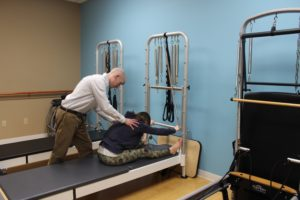 Pilates Stretches at Zang Physical Therapy